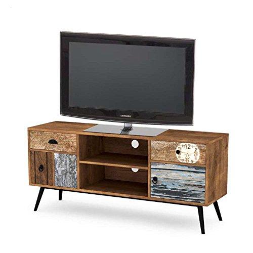 JUSTyou MEZO RTV-1 Lowboard TV-Board Fernsehtisch (LxBxH): 120x39x60 cm Bunt