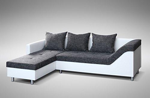Sofa Couch Ecksofa Eckcouch Sofagarnitur In Weiss