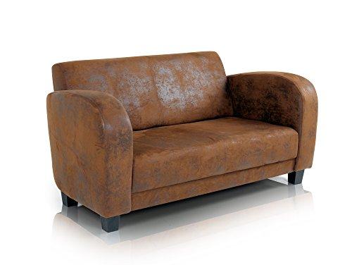 ANTON Sofa 2-Sitzer Gobi braun