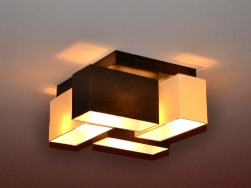 Deckenlampe Deckenleuchte Lampe Leuchte 4 flammig TOP Design Merano B4MIX