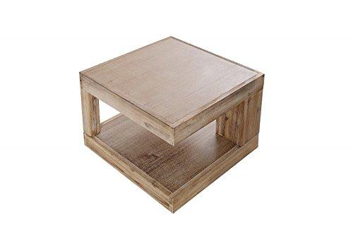 Dunord design couchtisch sofatisch goa 60cm akazie for Tisch design for stage and film