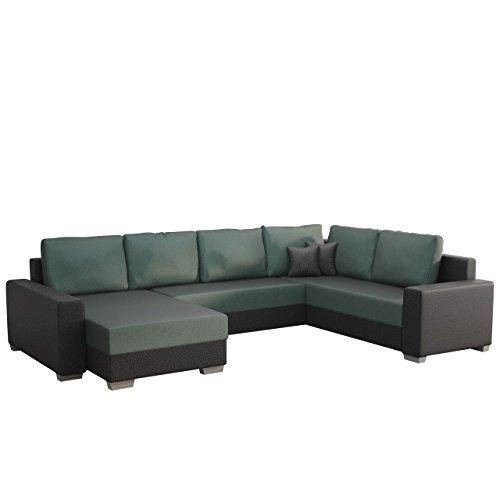 Ecksofa Olga SALE!, Elegante BIG Couch, Design U-Form Eckcouch, Ecksofa, Farbauswahl, Wohnlandschaft