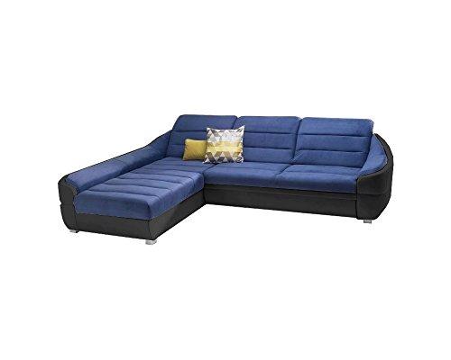 Ecksofa udinese mit schlaffunktion sofa couch schlafsofa for Ecksofa valerie