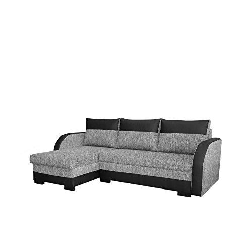 elegante ecksofa joseph eckcouch mit bettkasten und. Black Bedroom Furniture Sets. Home Design Ideas