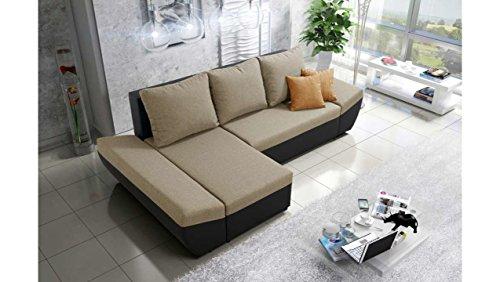 justyou corfu ecksofa polsterecke schlafsofa stoffbezug. Black Bedroom Furniture Sets. Home Design Ideas