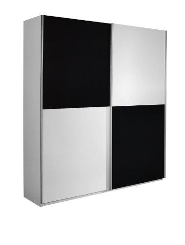 rauch schwebet renschrank kleiderschrank wei 2 t rig. Black Bedroom Furniture Sets. Home Design Ideas