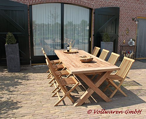 teak gartentisch brahn 240x100 teakholz antik massiv tisch tafel gartenm bel m bel24. Black Bedroom Furniture Sets. Home Design Ideas
