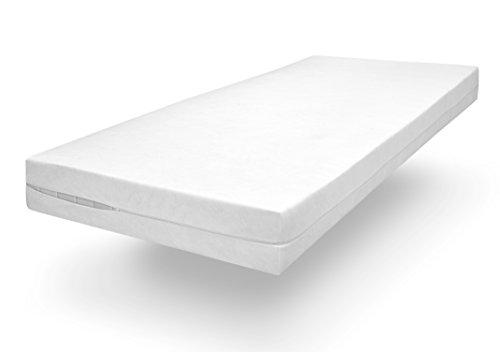sleepling Komfort 100 Evolon Encasing Matratzenbezug, Allergie und Anti Milben Schutz für Hausstauballergiker bis 25 cm Höhe