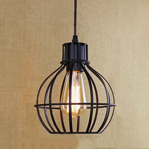 BAYCHEER Netz Hängeleuchte Industrielampe Pendelleuchte Esszimmer Lampe Wohnzimmer Kronleuchter Metall