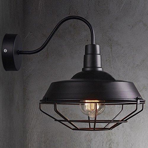 BAYCHEER Retro Pendelleuchte Hängelampe Industrie Kronleuchter Deckenlampe Metall E27 Fassung für Wandelgang Balkon Restaurant Küche