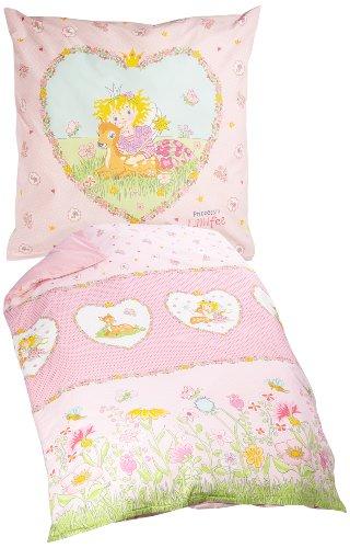 Bierbaum 2239_01 Wohnen Renforcé-Kinder-Lizenz-Bettwäsche, 135 x 200 cm, rosa