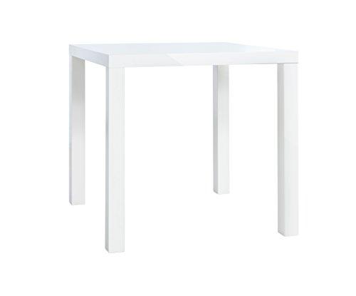 Esstisch - Küchentisch 80 - 160 (4 Größen, 2 Farben) Weiß, HGL