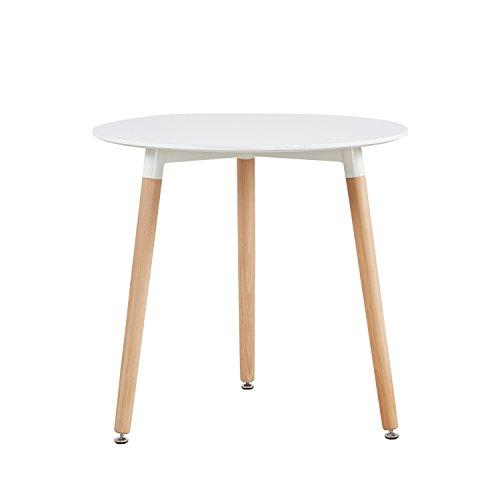H.J WeDoo Set von 4 Esszimmerstuhl mit hölzernen Metallbeine Küche Stühle für Ess - und wohnzimmer Stühle