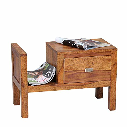 nachtkommode aus sheesham massivholz 60 cm breit pharao24 m bel24. Black Bedroom Furniture Sets. Home Design Ideas