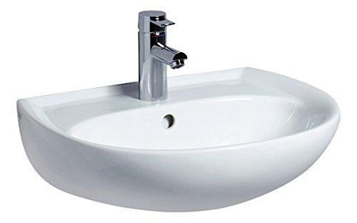 Renova Nr.1 Waschtisch, Waschbecken, 55 cm, weiß, 223055000