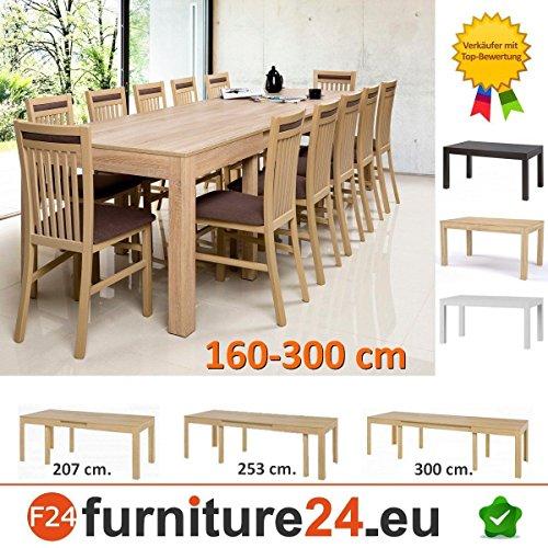 Tisch Küchentisch Esszimmertisch Esstisch WENUS ausziehbar 300 cm !!!
