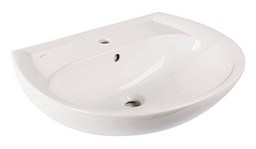 Waschtisch Renova Nr.1, Waschbecken, 60 cm, weiß, 223060
