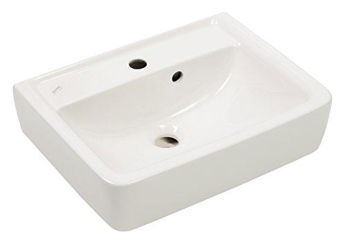 Waschtisch Renova Plan, Waschbecken, 45 cm, weiß, 272145