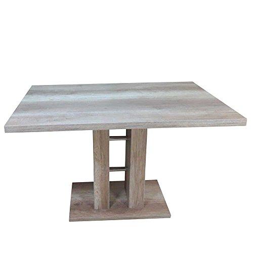 Esstisch mit Säulengestell 120 cm breit Pharao24