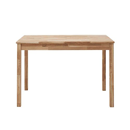 Esszimmertisch aus Eiche Massivholz geölt Breite 70 cm Tiefe 50 cm rechteckige Tischform Pharao24