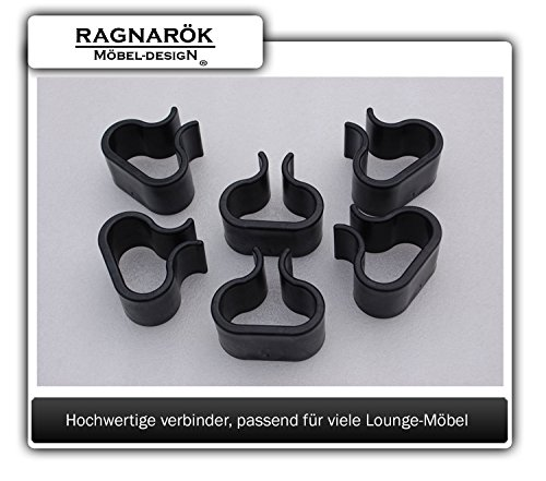 Gartenmmöbel Lounge-Verbinder RAGNARÖK-MÖBELDESIGN für Modell Florida-Beach (S42) sowie S80 und DS23