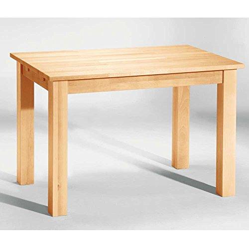 Tisch Esstisch Bergheim Buche massiv 120x80 Breite 120 cm Tiefe 80 cm Pharao24